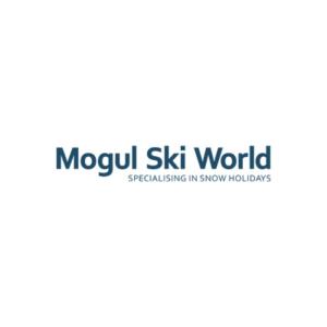 Mogul ski world logo