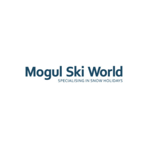 Mogul ski world logo