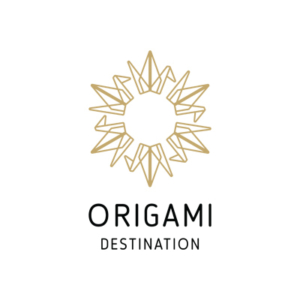 Origami destination logo