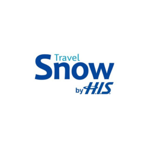 Travel snow by his logo